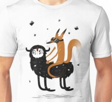 What The Fox Riding! Unisex T-Shirt