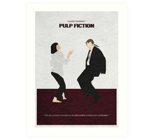Pulp Fiction 2 Art Print