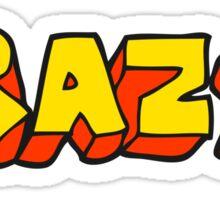 cartoon shout crazy Sticker