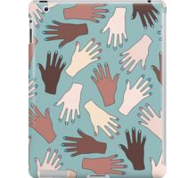 Nail Expert Studio - Colorful Manicured Hands Pattern iPad Case/Skin