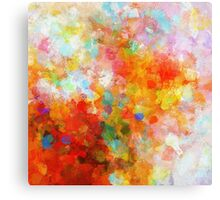 Dreamy Abstract Painting Canvas Print