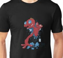 Monster Breaking Out From The Walls Unisex T-Shirt