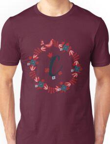 Scandinavian Monogram C Unisex T-Shirt