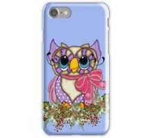 The Owl and the Holly iPhone Case/Skin