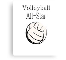 Volleyball All-Star Metal Print