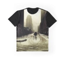 the world in snow Graphic T-Shirt