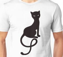 Gracious Evil Cat Her Eyes Glowing Unisex T-Shirt