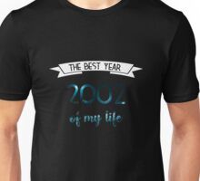2002 The best year of my life Unisex T-Shirt