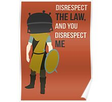 Skyrim whiterun guard Poster