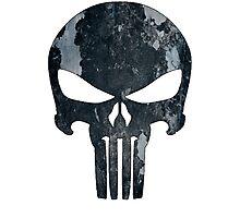 Punisher (camo) Photographic Print
