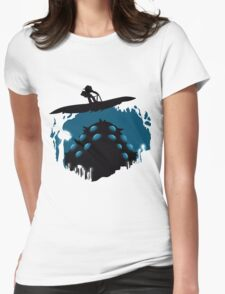 The valley of the wind Womens Fitted T-Shirt