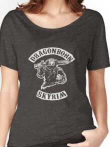Dragonborn's Sweetroll - White Women's Relaxed Fit T-Shirt