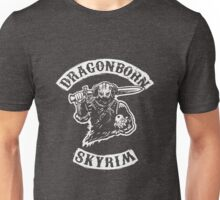 Dragonborn's Sweetroll - White Unisex T-Shirt