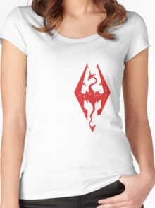 Skyrim Love Women's Fitted Scoop T-Shirt