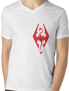 Skyrim Love Mens V-Neck T-Shirt