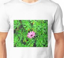 one purple flower Unisex T-Shirt
