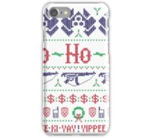 McClane Christmas Sweater iPhone Case/Skin