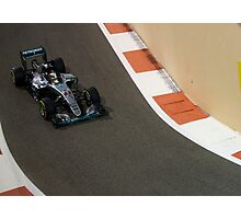 Lewis Hamilton Formula 1 Photographic Print
