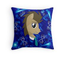 Doctor Whooves Throw Pillow