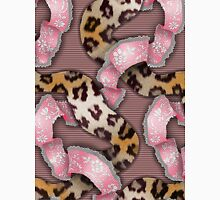 Leopards'n Lace - Pink Womens Fitted T-Shirt