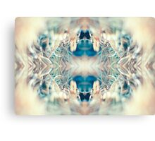 MICRO WORLD CREATURE MOUTH Canvas Print