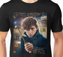 Fantastic Beasts and Where to Find Them Newt Scamander Poster Unisex T-Shirt