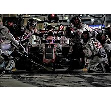 Pit Stop Formula 1 Photographic Print