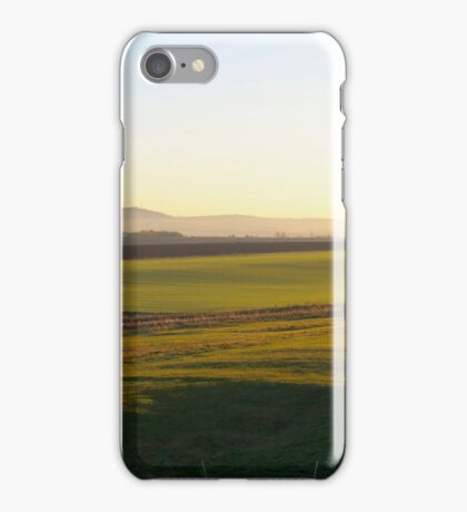 Dirleton Castle and Countryside iPhone Case/Skin