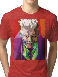 Gellert Grindelwald Tri-blend T-Shirt