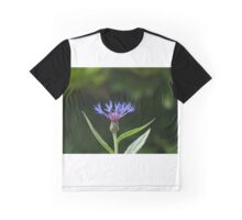 Blue Flame Graphic T-Shirt