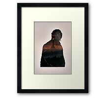 Though... I do not know the way.  Framed Print