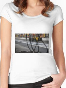 Formula 1 racing cars 2016 Women's Fitted Scoop T-Shirt
