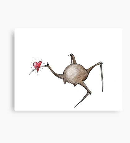 Valentine Headcrab Canvas Print