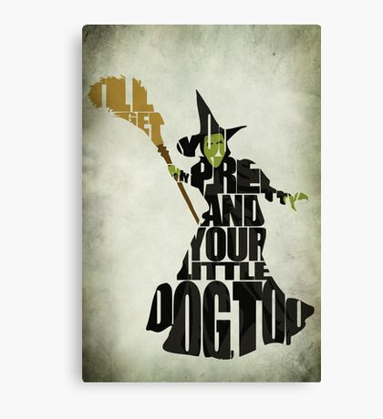 Wicked Witch Of The West Canvas Print