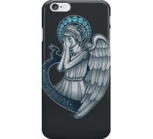 Peek a boo, Angel iPhone Case/Skin