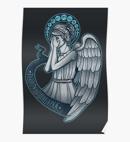 Peek a boo, Angel Poster