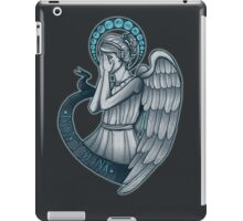 Peek a boo, Angel iPad Case/Skin