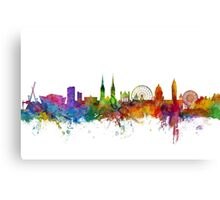 Belfast Northern Ireland Skyline Canvas Print