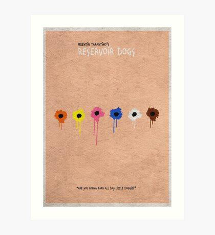 Reservoir Dogs Art Print