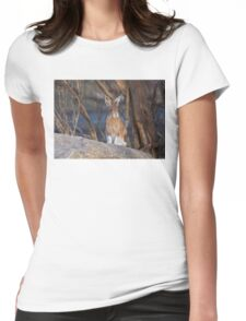 Snowshoe hare (Lepus americanus) in Spring T-Shirt