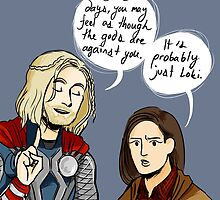 Probably Just Loki  by kehinki