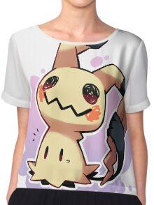 Mimikyu Pokémon Sol y Luna / Mimikyu Pokemon Sun and Moon Chiffon Top