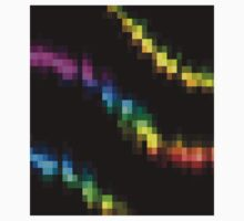 Abstract Snake Pixelate Kids Clothes