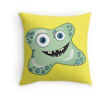 Mr. Goo Throw Pillow