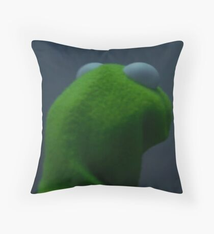 me to me Kermit Throw Pillow