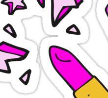cartoon vivid lipstick Sticker