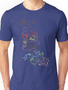 Tribal Eeveeloutions swirl Unisex T-Shirt