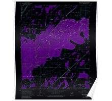 USGS TOPO Map Arkansas AR Peach Orchard 259379 1964 24000 Inverted Poster