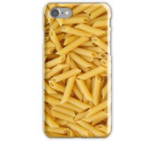 Raw penne pasta iPhone Case/Skin