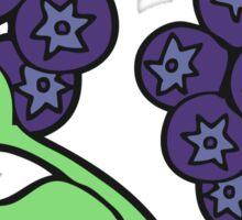 cartoon blueberries Sticker